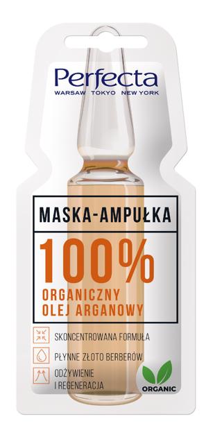 "Perfecta Maska - Ampułka 100% Organiczny Olej Arganowy 8ml"""
