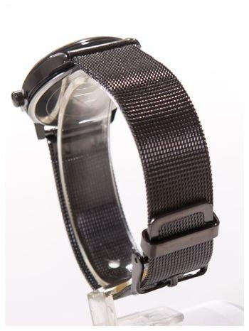 Piękny damski zegarek z PIESKIEM na bransolecie typu Mesh                                  zdj.                                  4