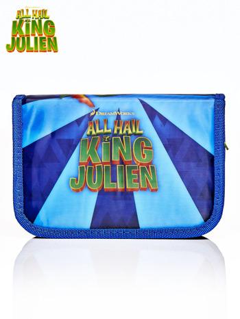 Piórnik szkolny ALL HAIL KING JULIEN z WYPOSAŻENIEM