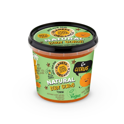 "Planeta Organica Skin Super Good Scrub do ciała C+Citrus  360g"""