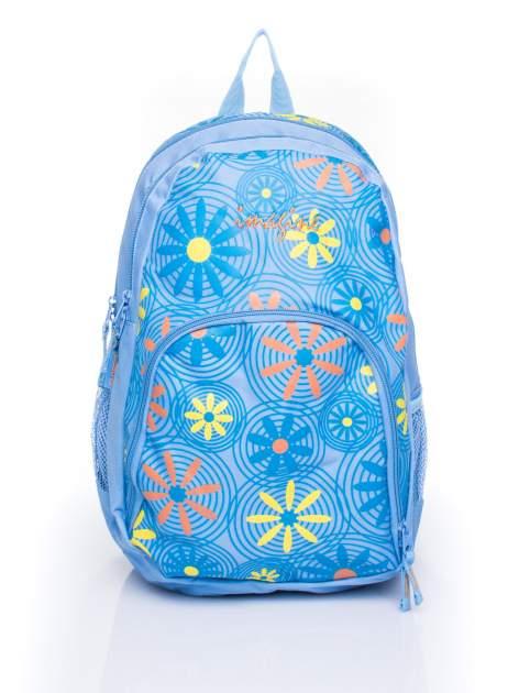 Plecak szkolny DISNEY z motywem kwiatowym                                  zdj.                                  1