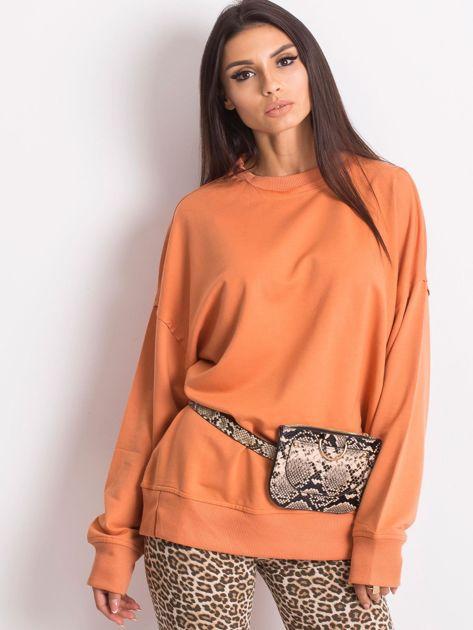 Pomarańczowa bluza Wild                              zdj.                              1