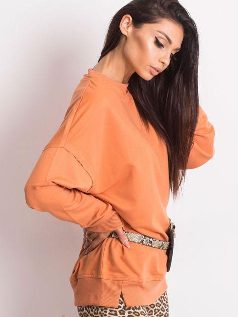 Pomarańczowa bluza Wild                              zdj.                              3