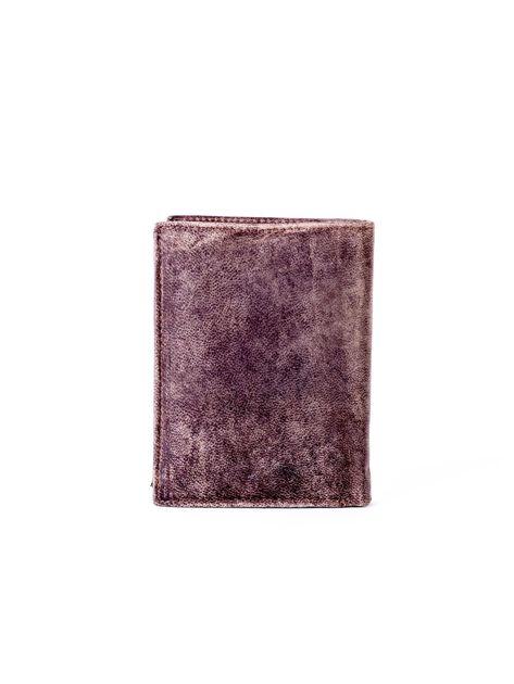 Portfel ze skóry naturalnej męski brązowy                              zdj.                              2