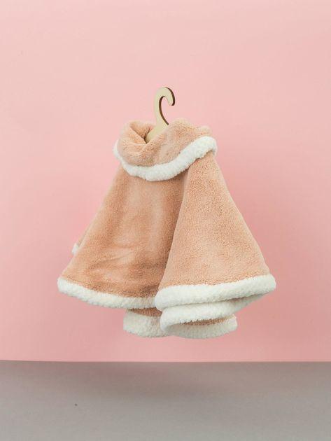 Pudroworóżowy ręcznik do rąk                              zdj.                              3