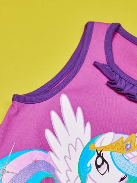 Purpurowa tunika dla dziewczynki MY LITTLE PONY                                  zdj.                                  4