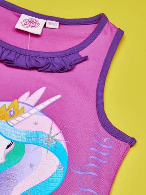 Purpurowa tunika dla dziewczynki MY LITTLE PONY                                  zdj.                                  5