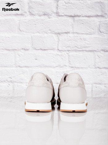 REEBOK Beżowe buty sportowe męskie CL LEATHER SG                              zdj.                              3