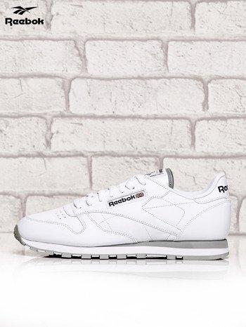 REEBOK Białe buty męskie sportowe Classic Leather z przeszyciami                              zdj.                              5
