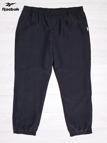 REEBOK Czarne spodnie dresowe męskie                                  zdj.                                  1