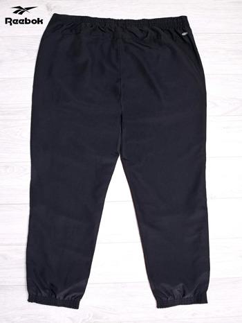 REEBOK Czarne spodnie dresowe męskie                                  zdj.                                  2