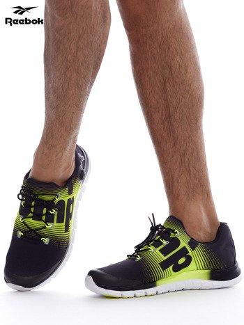 REEBOK ZPUMP FUSION Czarno-żółte buty męskie sportowe z nadrukiem                              zdj.                              5