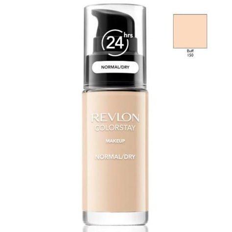 REVLON ColorStay podkład z pompką do skóry normalnej i suchej z kompleksem SoftFlex 150 Buff 30ml                                  zdj.                                  1