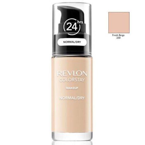 REVLON ColorStay podkład z pompką do skóry normalnej i suchej z kompleksem SoftFlex 250 Fresh Beige 30ml                              zdj.                              1