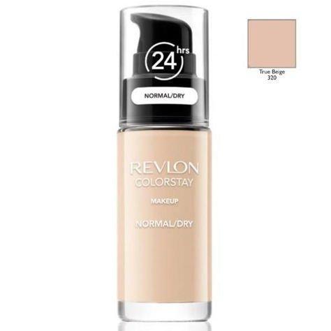 REVLON ColorStay podkład z pompką do skóry normalnej i suchej z kompleksem SoftFlex 320 True Beige 30ml                              zdj.                              1