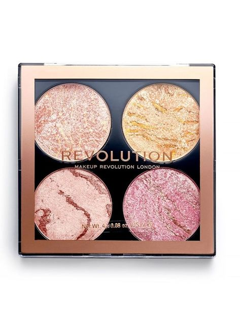 REVOLUTION Cheek Kit Multipaleta do makijażu policzków Fresh Perspective 8,8 g