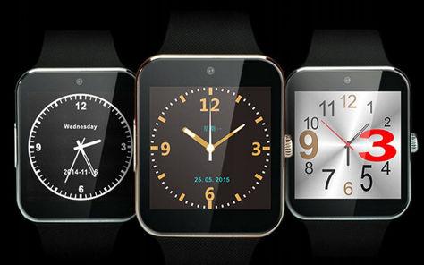 RONEBERG Smartwatch RG08 Współpracuje z Android oraz iOS Powiadomienia Połączenia Krokomierz Monitor snu Czarny                              zdj.                              4