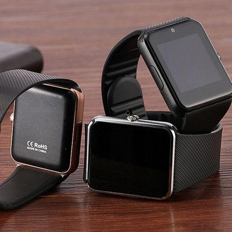 RONEBERG Smartwatch RG08 Współpracuje z Android oraz iOS Powiadomienia Połączenia Krokomierz Monitor snu Czarny                              zdj.                              5