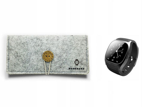 RONEBERG Smartwatch RM26 Współpracuje z Android oraz iOS Powiadomienia Połączenia Krokomierz Monitor snu Biały                              zdj.                              3