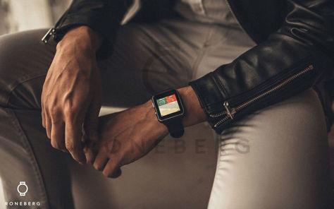 RONEBERG Smartwatch RX6 Współpracuje z Android oraz iOS Powiadomienia Połączenia Krokomierz Monitor snu Czarny                              zdj.                              7