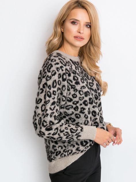 RUE PARIS Beżowy sweter Corsica                              zdj.                              3