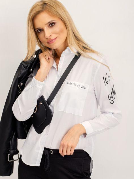 RUE PARIS Biała koszula Luigi                              zdj.                              5