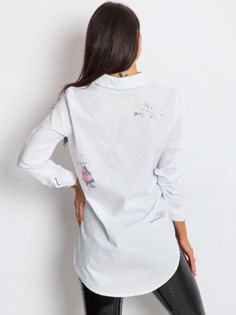 RUE PARIS Biała koszula Trish                              zdj.                              2