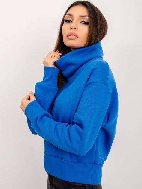 RUE PARIS Ciemnoniebieska bluza Charm