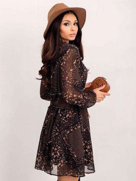 RUE PARIS Czarna sukienka Camilla                              zdj.                              3