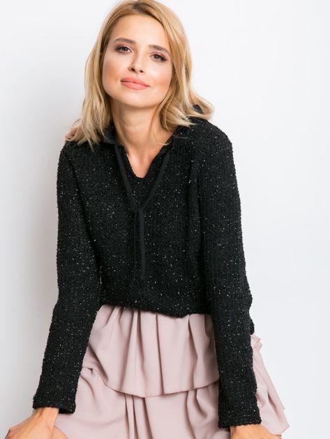 RUE PARIS Czarny sweter Esta