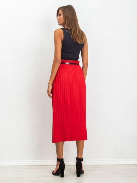 RUE PARIS Czerwona spódnica Tammy                              zdj.                              2