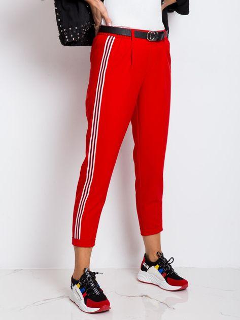 RUE PARIS Czerwone spodnie Orinoco                              zdj.                              1