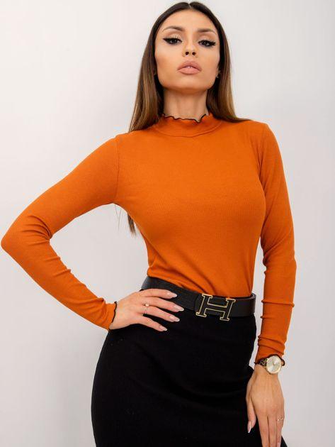 RUE PARIS Pomarańczowa bluzka Arielle