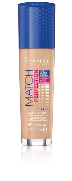 "Rimmel Podkład Match Perfection nr 201 classic beige  30ml"""