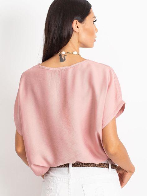 Różowa bluzka Kiss                              zdj.                              2
