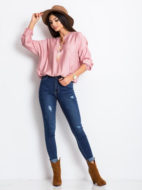 Różowa bluzka Several                              zdj.                              4