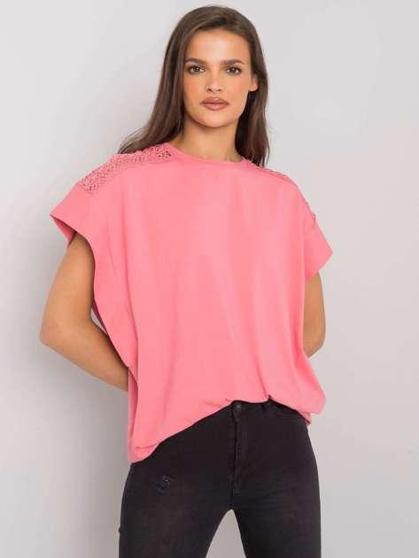 Różowa bluzka na co dzień Denise