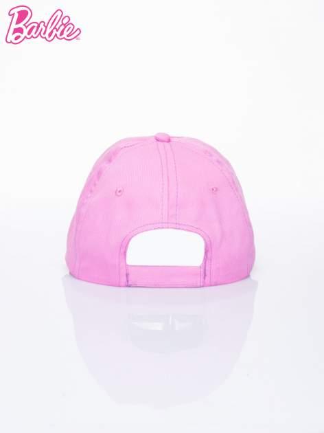 Różowa czapka z daszkiem dla dziewczynki BARBIE                                  zdj.                                  3
