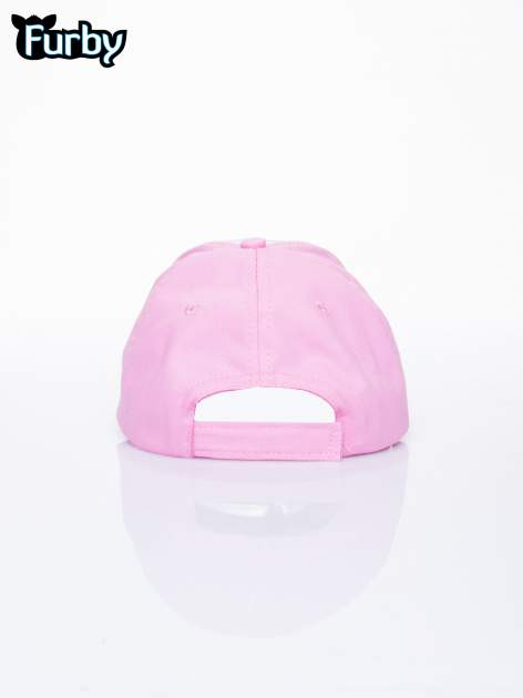 Różowa czapka z daszkiem dla dziewczynki FURBY                                  zdj.                                  3