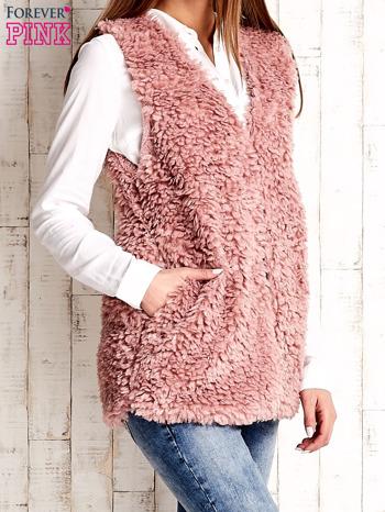 Różowa kamizelka fluffy                                  zdj.                                  3