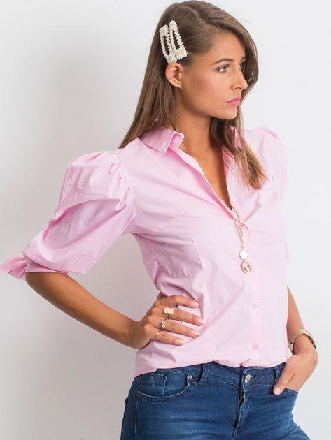 Różowa koszula Diva                              zdj.                              1