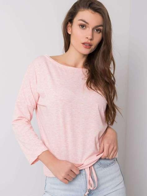 Różowa melanżowa bluzka Fiona
