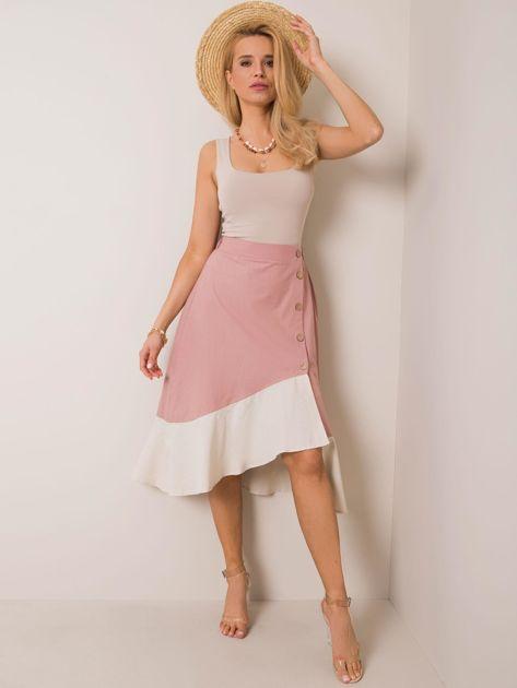 Różowa spódnica Faith RUE PARIS