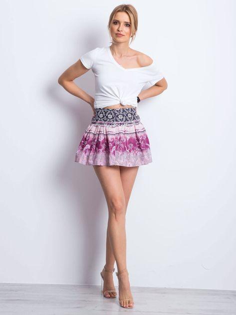Różowa spódnica Unstructured                              zdj.                              4