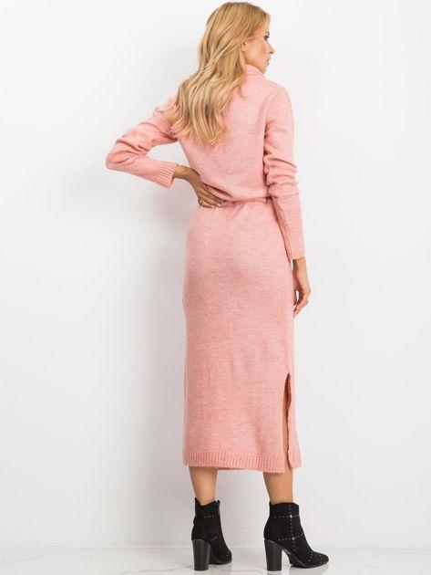 Różowa sukienka Peace                              zdj.                              2