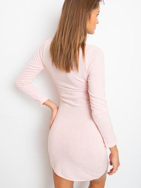 Różowa sukienka Siesta                              zdj.                              2