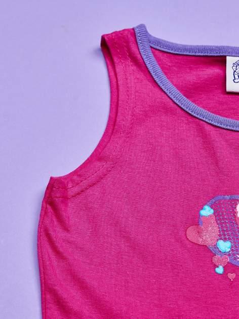 Różowa sukienka dla dziewczynki z kokardką i kieszonkami MY LITTLE PONY                                  zdj.                                  5