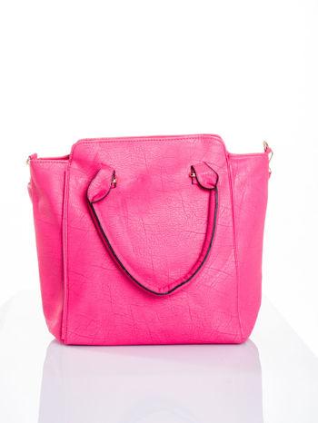 Różowa torba shopper bag