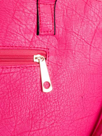 Różowa torba shopper bag                                  zdj.                                  7