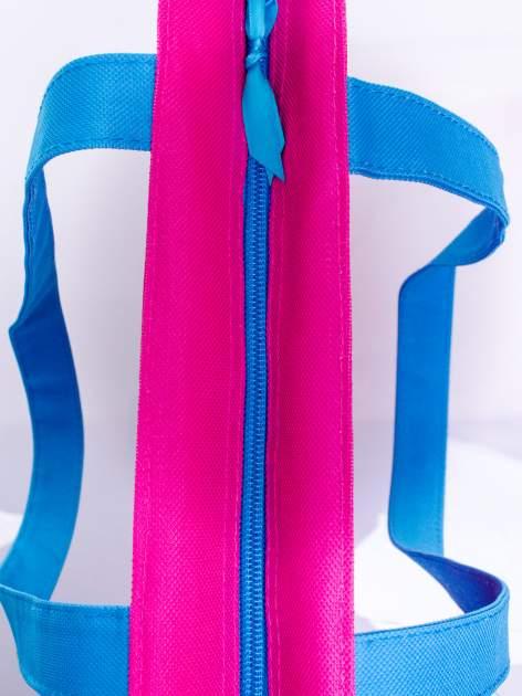 Różowa torba shopper bag dla dziewczynki DISNEY Violetta                                  zdj.                                  3
